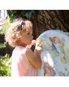 Kocyk Przedszkolaka Alicja w Krainie Czarów Jasny Róż, 125x150 cm