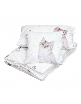 Bedding Alice in clouds, 3 elements,  size 100x135 cm