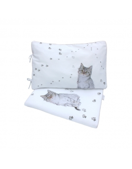 2 el. bedding set, size 80 x100 cm Puss in Boots