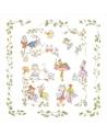 Kocyk letni - Otulacz Alicja w Krainie Czarów, 120x120 cm