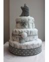 Tort Pieluszkowy Kot w butach
