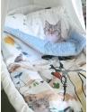 Kocyk Maluszka Kot w Butach 80x100 cm wersja 2016