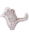 Mouse Cuddly Toy, size 15x25 cm