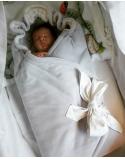 Baby wrapper , size 85x85 cm