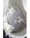 Rożek bawełniany Zegarki 85x85 cm