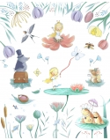 Blanket for a Child Thumbelina, size 95x115 cm