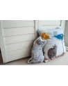 Poduszka Kot w Butach na welurze bawełnianym 40x40 cm