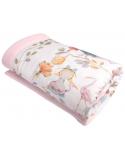 Blanket for preschooler Alice's Magical World size 125x150 cm