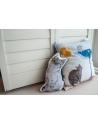 Poduszka Kot w Butach szary 40x40 cm