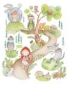 Otulacz Bambusowo Bawełniany Kapturek 120x120 cm