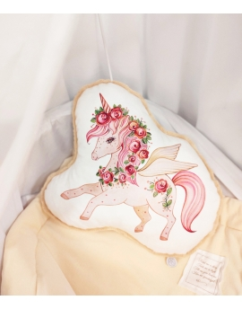Character Pillow Unicorn, size 30x40 cm