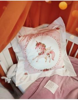 Character Pillow Unicorn, size 30x40 cm