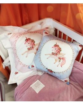 Pillow Rosalie, size 50x50 cm