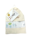 Set of 2 bamboo-cotton blankets The Crowns and The Kings (40 % bamboo 60 % cotton)