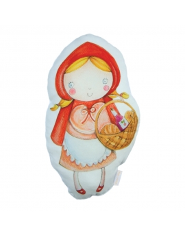 Pillow Little Red Riding Hood, size 30x60 cm