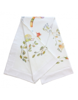 Blanket swaddle Alice's Magical World, size 120x120 cm